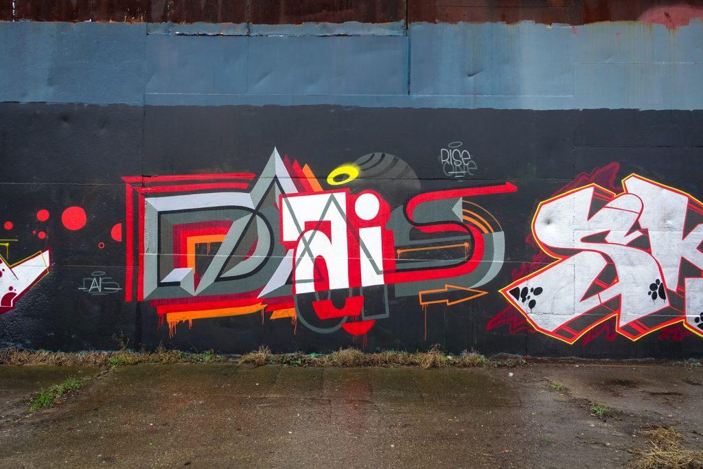 graffiti - dais - petrol, antwerpen