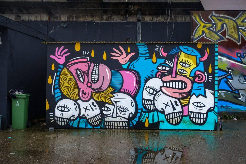 graffiti - joachim - petrol, antwerpen