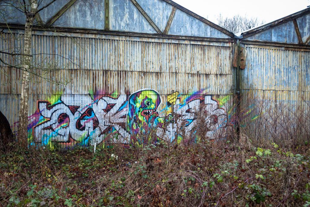 graffiti - petrol, antwerpen