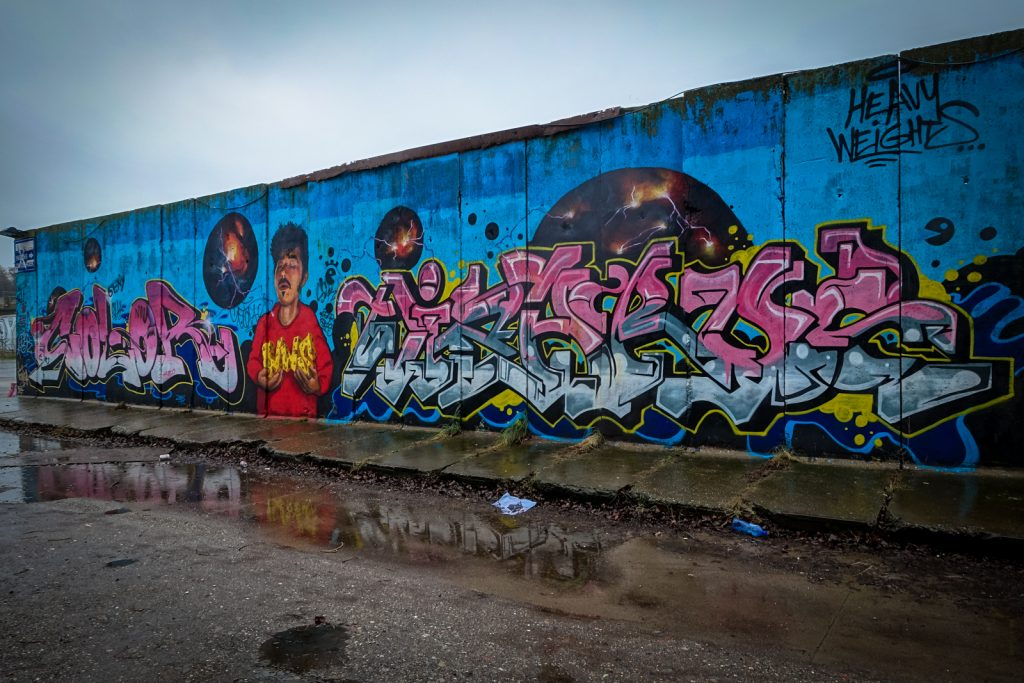 graffiti - color,  hws / heavy weights - petrol, antwerpen