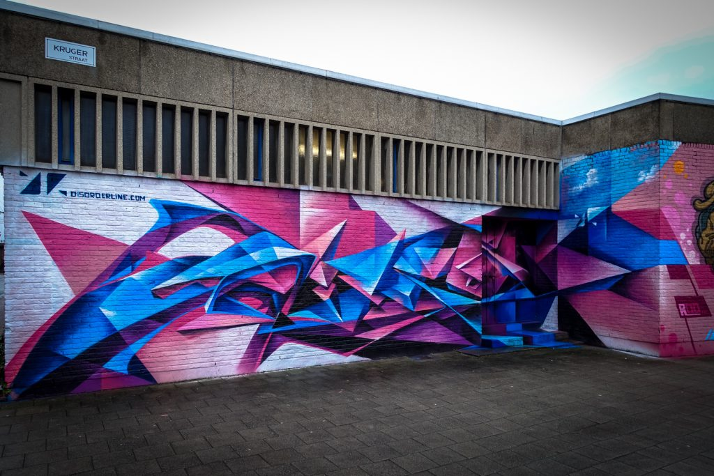 graffiti - disorderline - meeting of styles, antwerpen