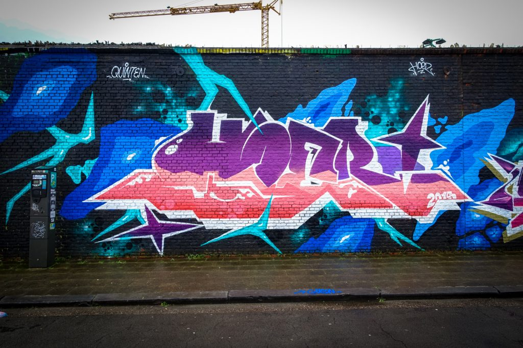 graffiti - hoer - meeting of styles, antwerpen