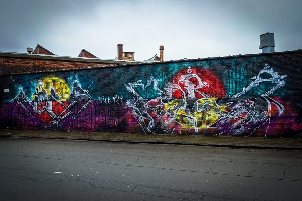 graffiti - meeting of styles, antwerpen