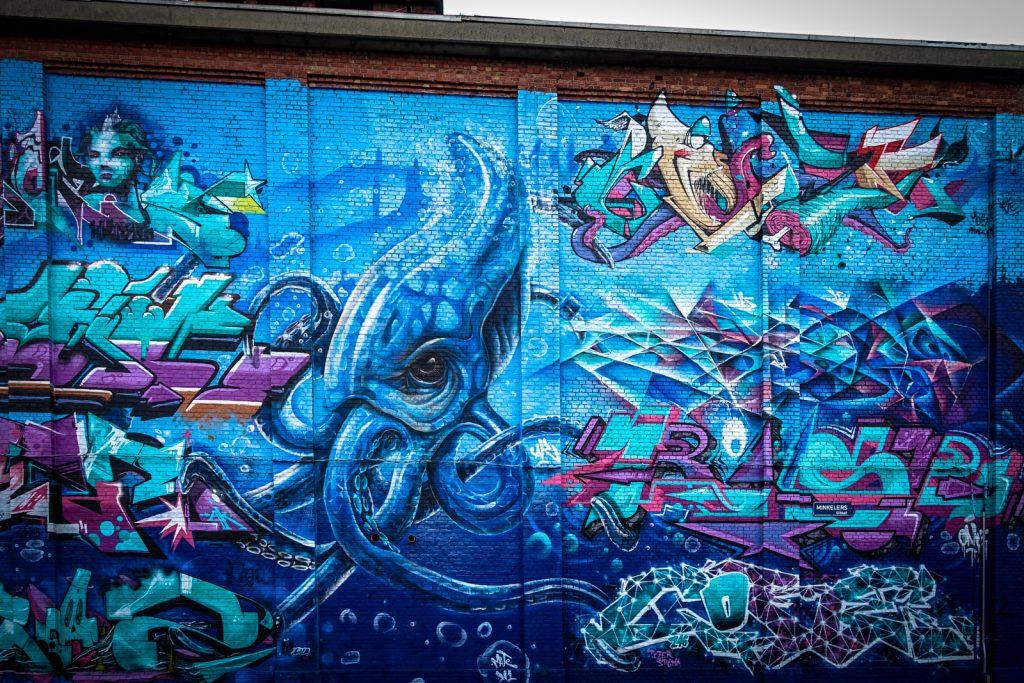 graffiti - meeting of styles, antwerpen