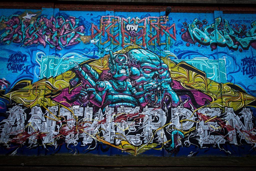 graffiti - odv crew - meeting of styles, antwerpen