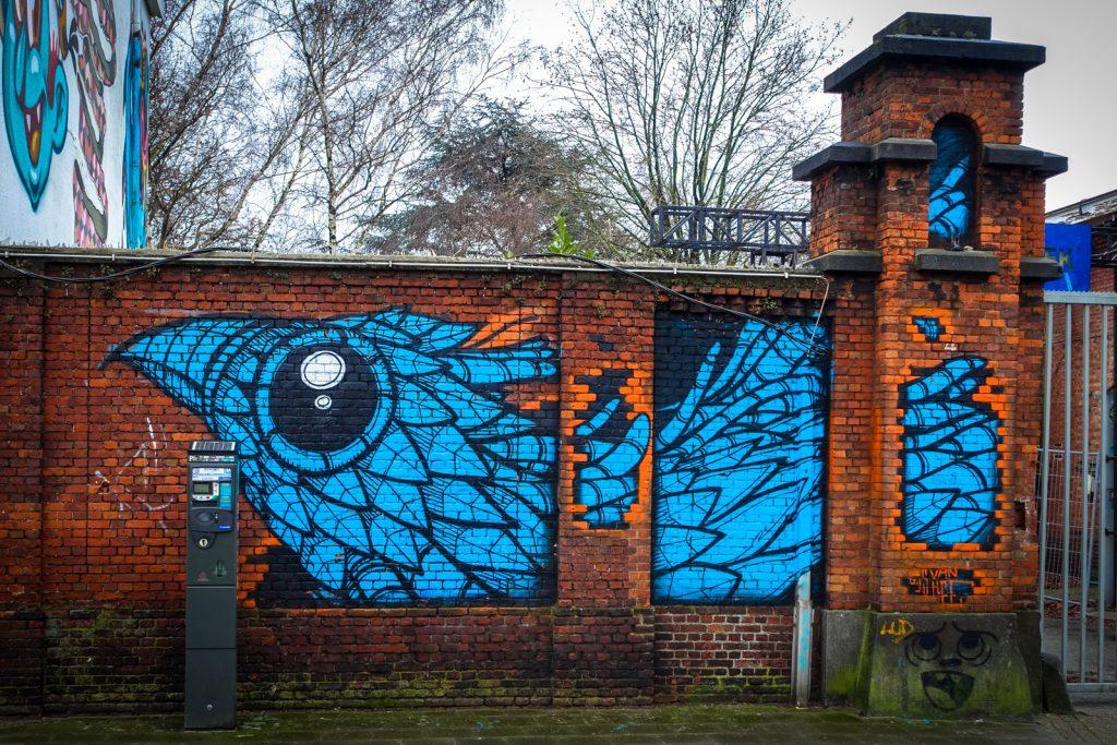 graffiti - gijs vanhee - meeting of styles, antwerpen