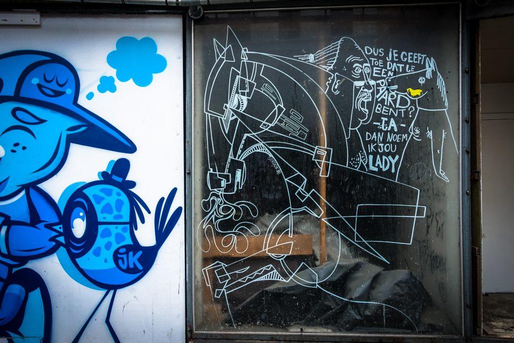 streetart - strook - gent