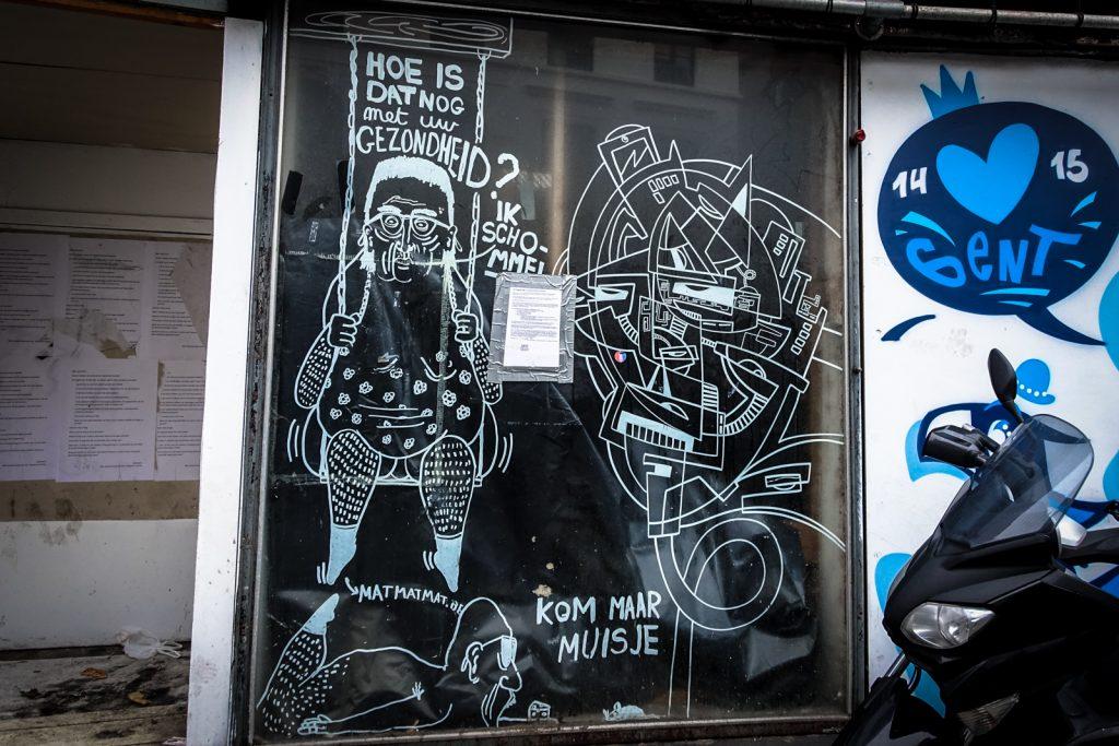 streetart - strook & mat - gent