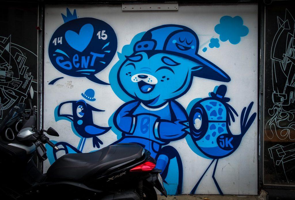 graffiti - bue - gent