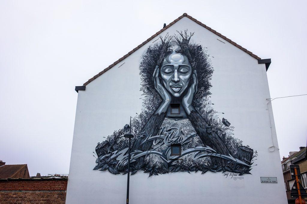 mural - farm prod