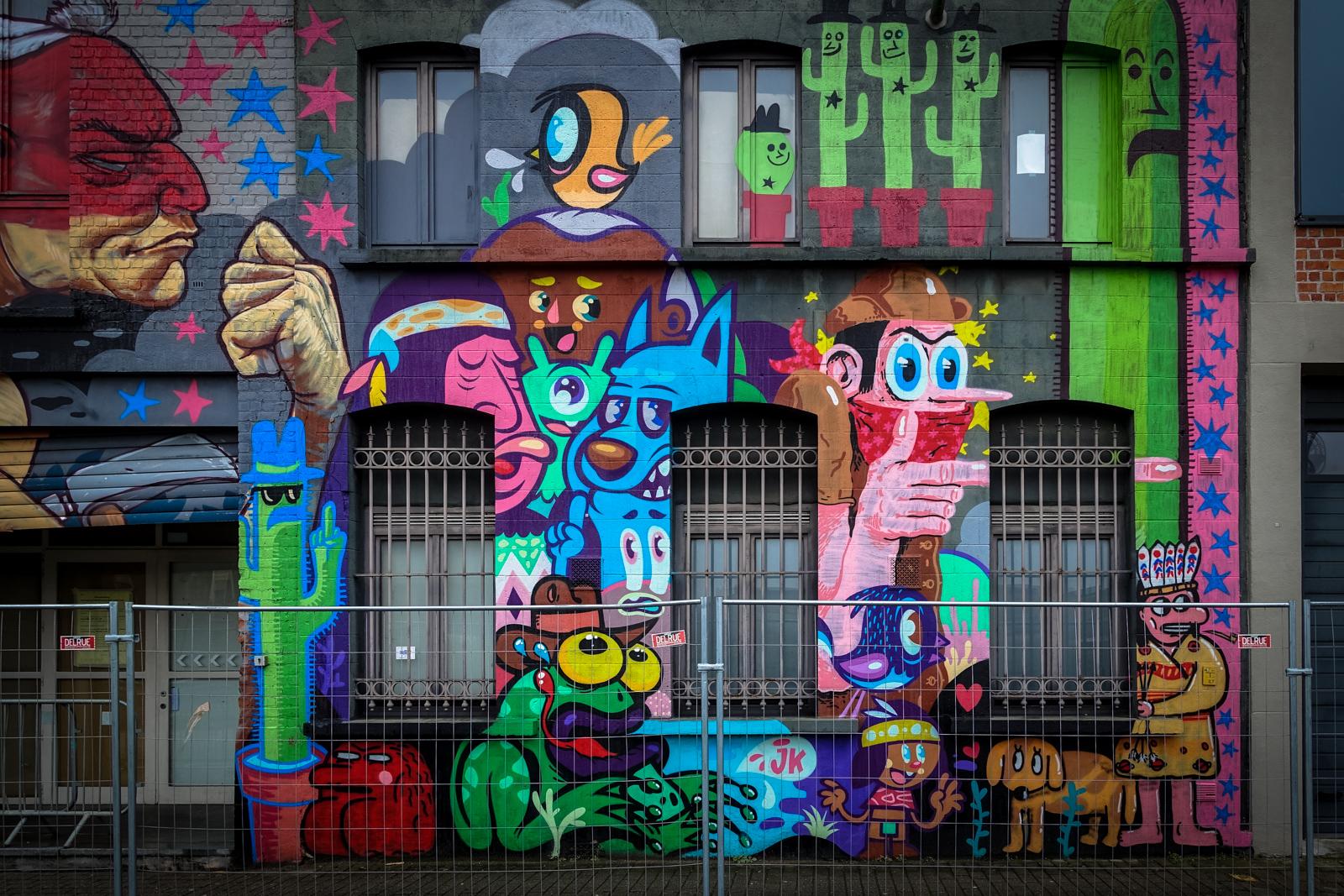 Street art ghent urbanpresents for Mural street art