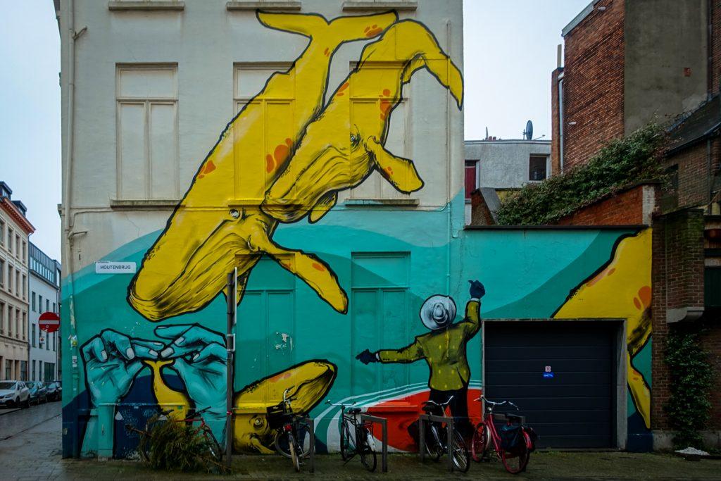 mural - larsen bervoets - antwerp