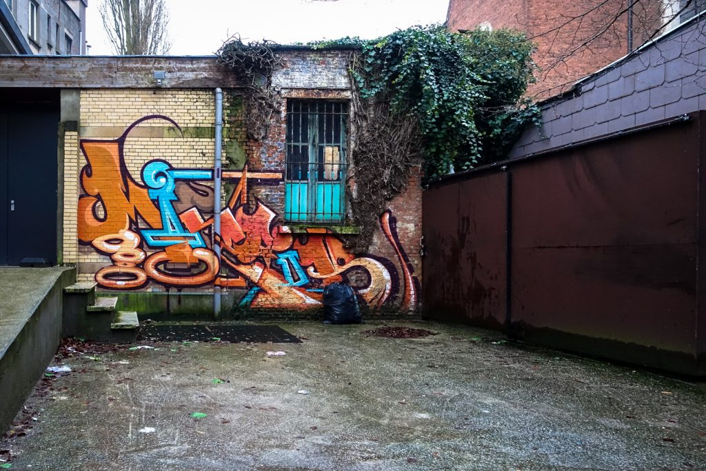 graffiti - mister - antwerp