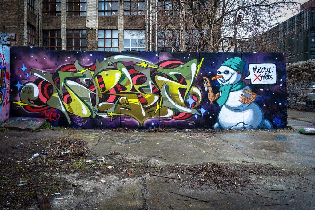 graffiti - berlin, platoon
