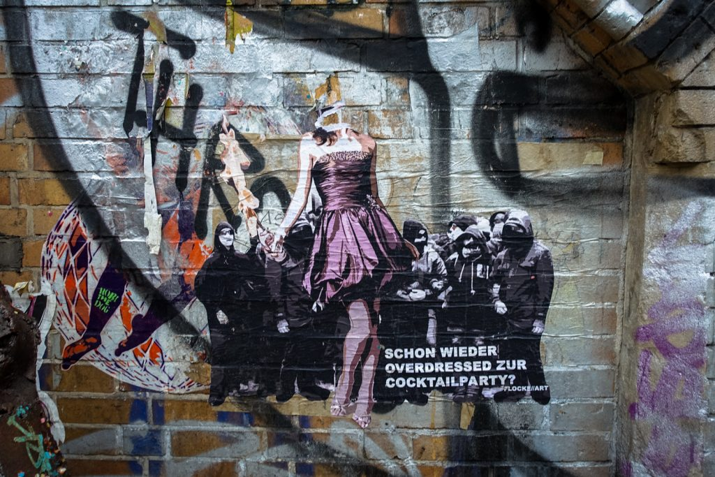 paste up - flocke art - berlin, dircksenstrasse