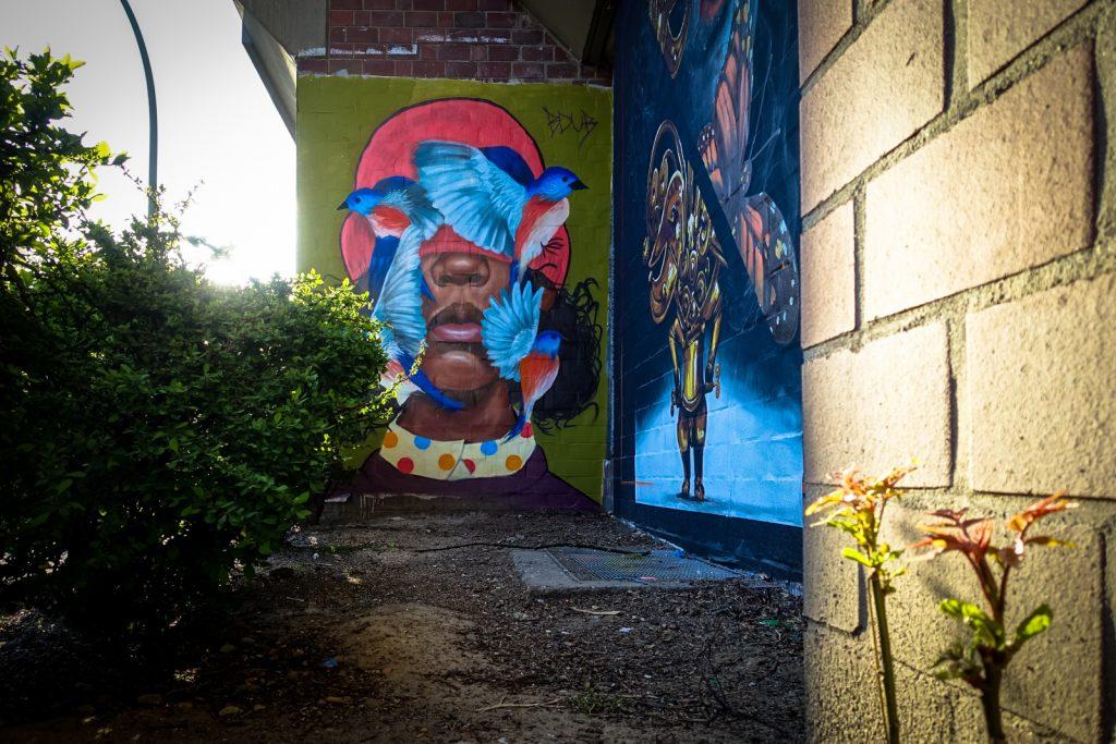 urban art - brittany williams - bülowstrasse, berlin