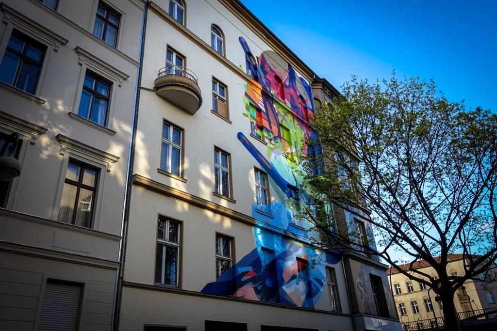 mural - bülowstrasse, berlin