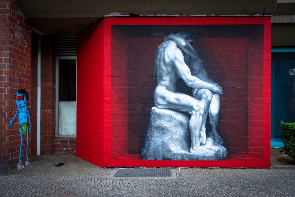 urban art - ae - bülowstrasse, berlin