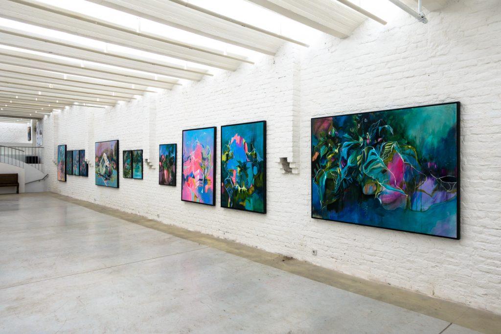 julia benz – exhibition – die kunstagentin gallery, cologne