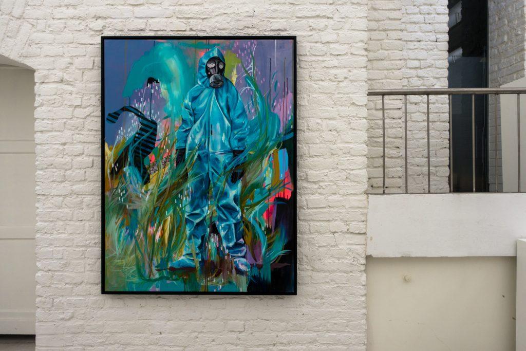 julia benz - exhibition - die kunstagentin gallery, cologne