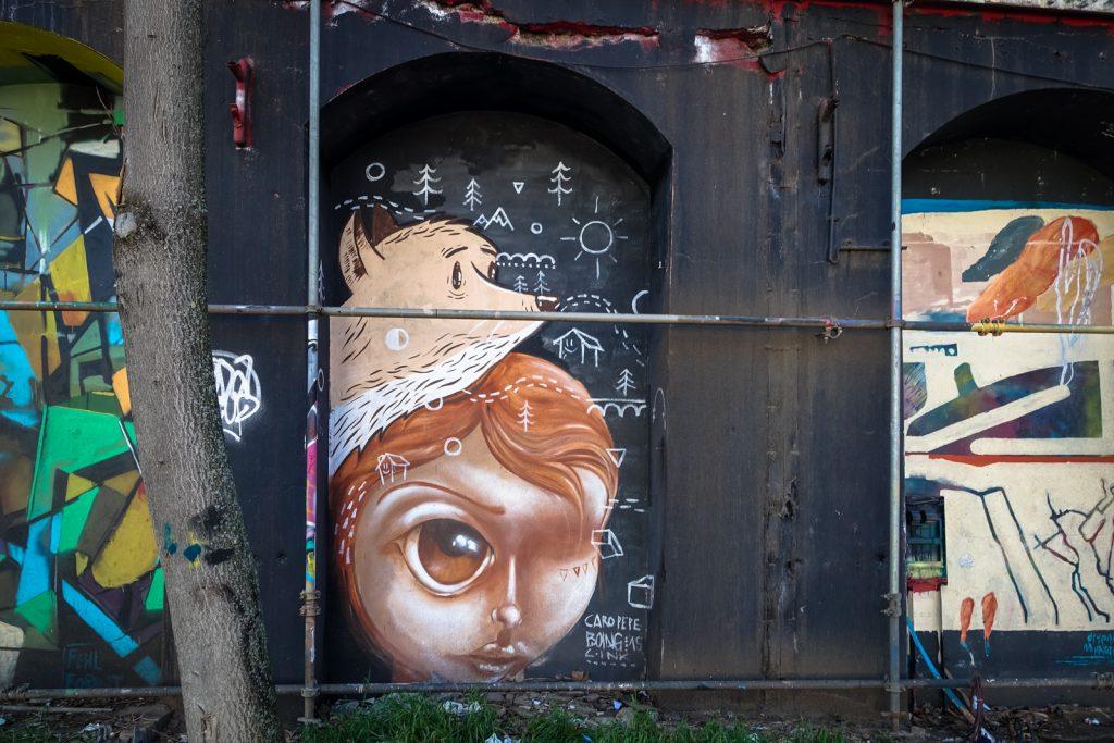 streetart - caro pepe / boing - berlin, urban spree