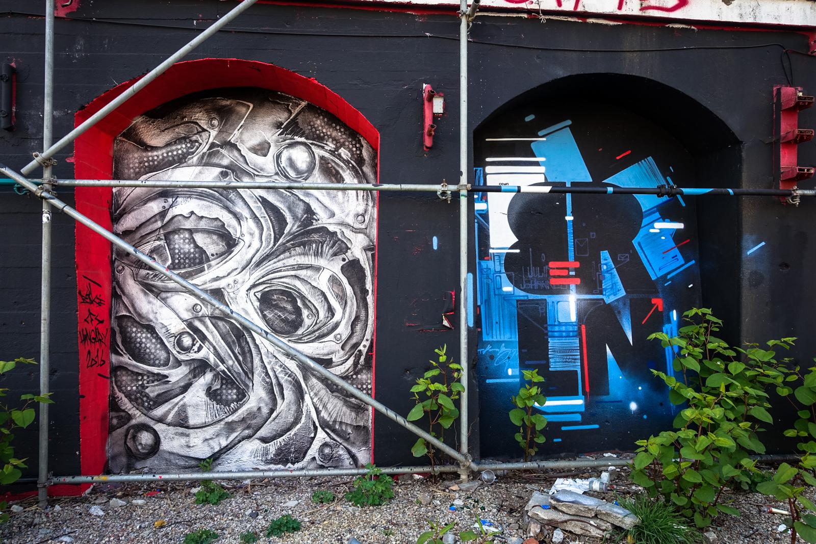 murals im urban spree garten mai 2016 urbanpresents. Black Bedroom Furniture Sets. Home Design Ideas