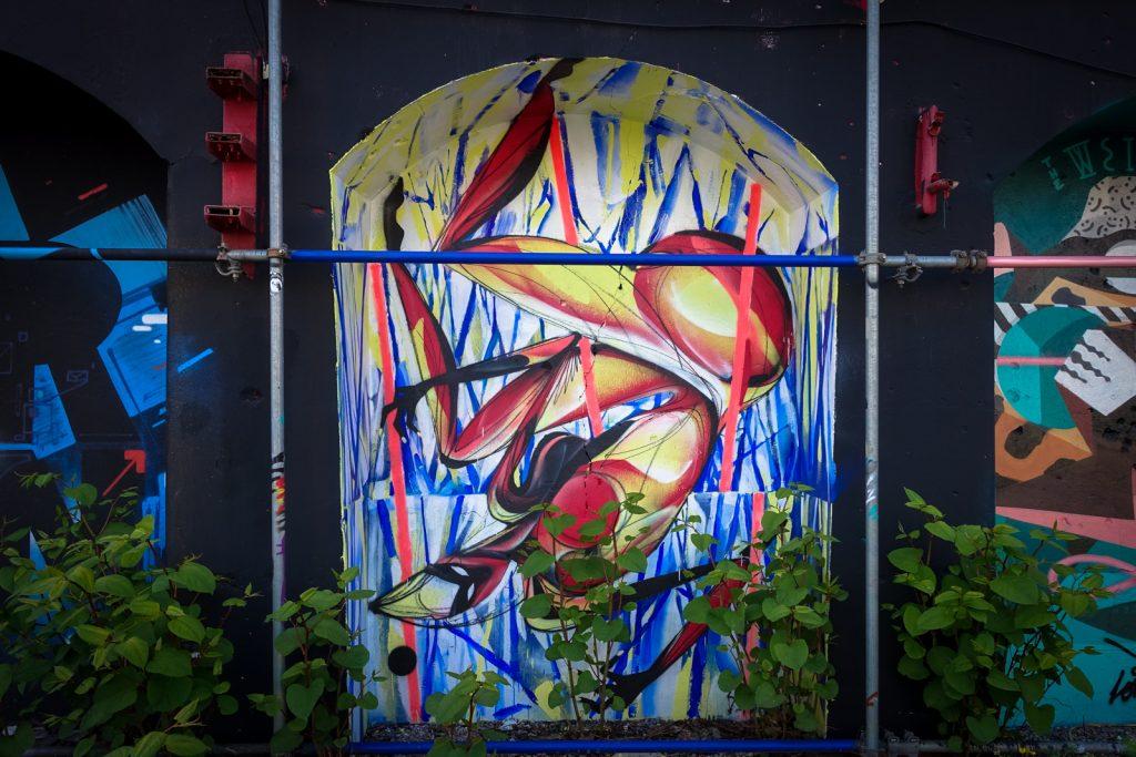streetart - shida - berlin, urban spree