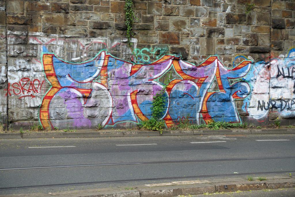 graffiti - skaf - bonn