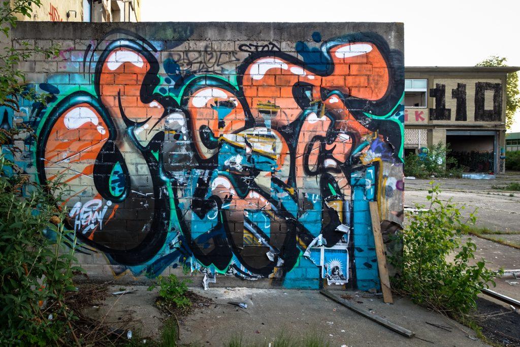 urbex graffiti - henni, reset - schlachthof, bonn