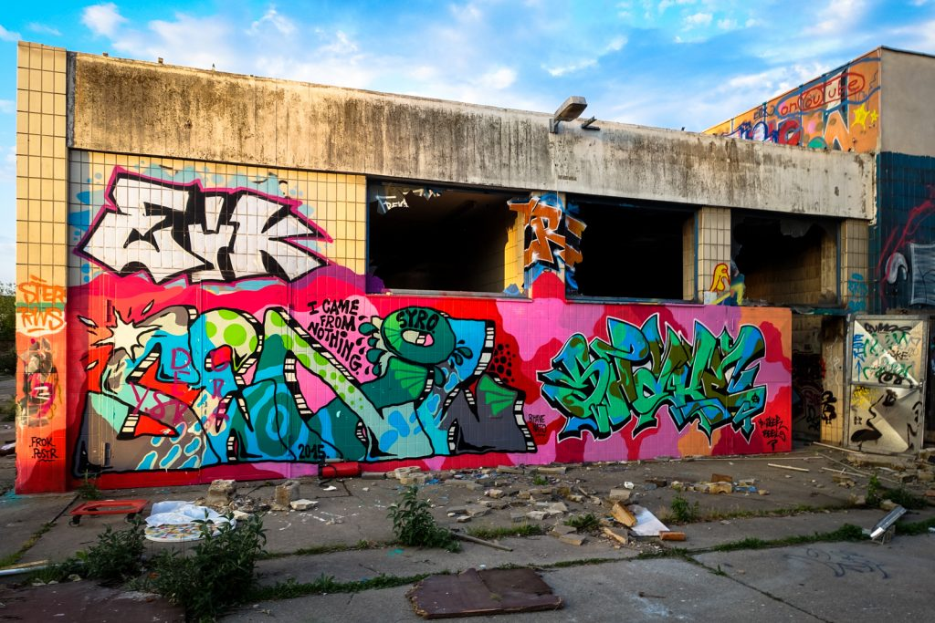 urbex graffiti - schlachthof, bonn