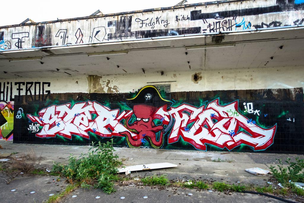 urbex graffiti - ster, rws - schlachthof, bonn