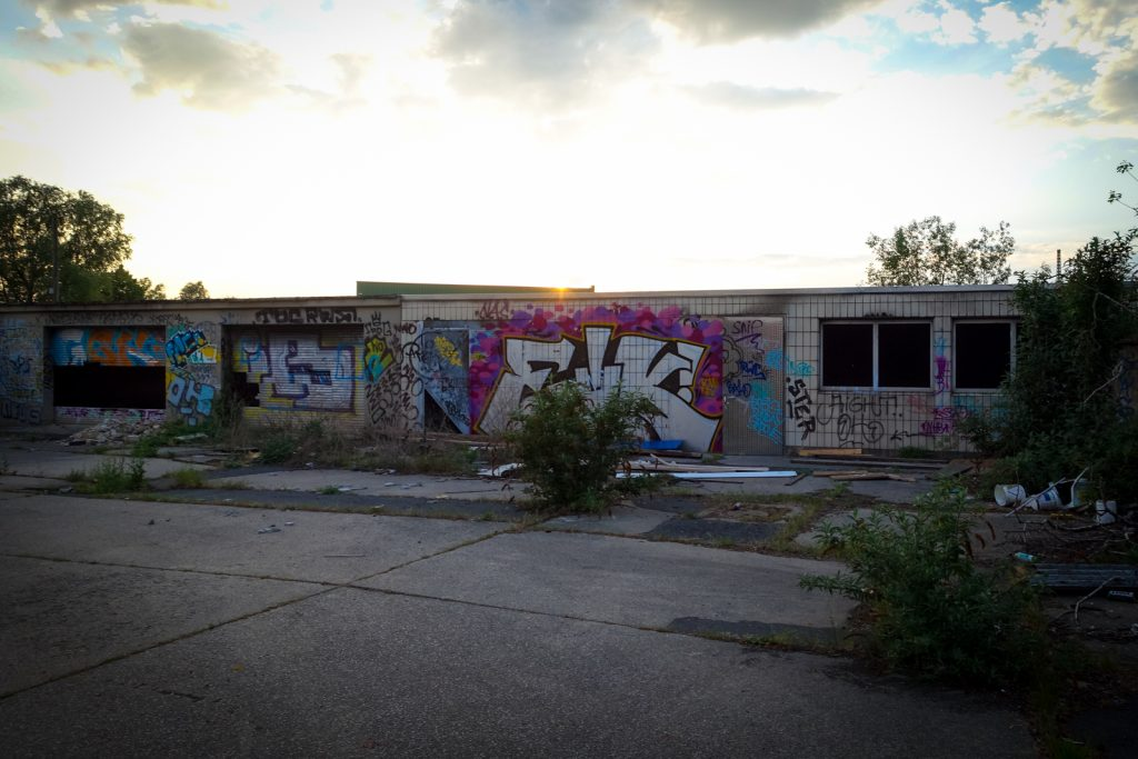 urbex graffiti - eik - schlachthof, bonn