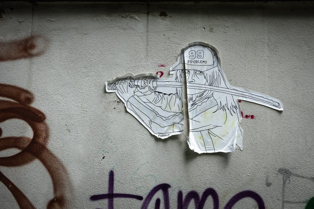 paste up - chrono - bonn