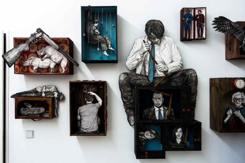 levalet exhibition - open walls gallery, berlin
