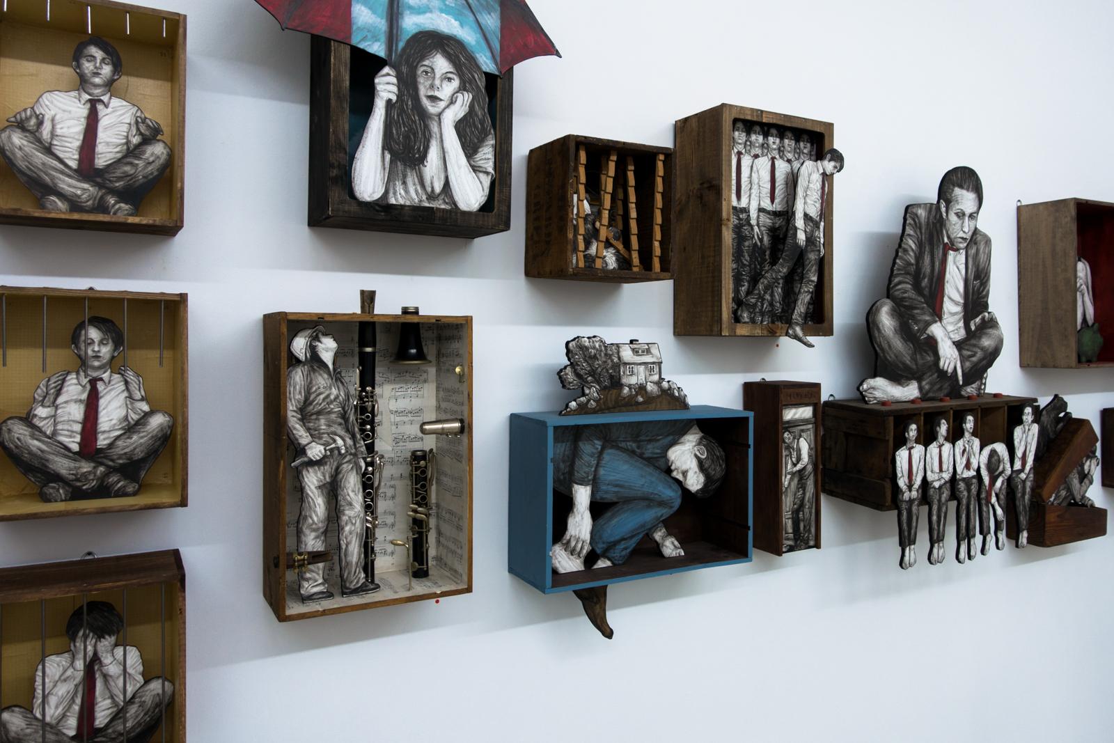 levalet exhibition – open walls gallery, berlin