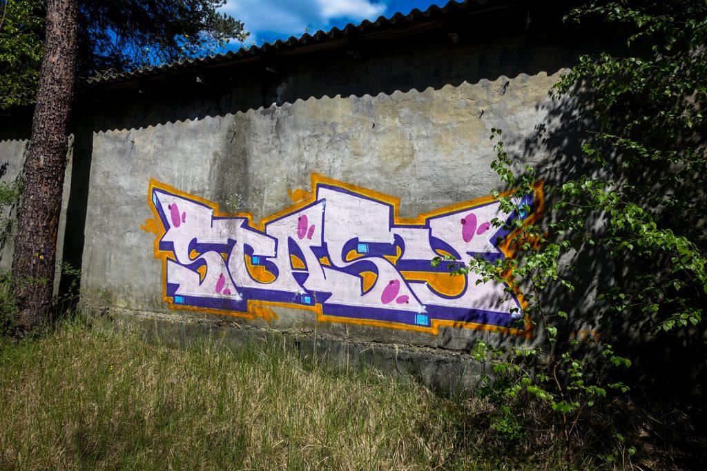 urbexart - graffiti stasy - wünsdorf / berlin