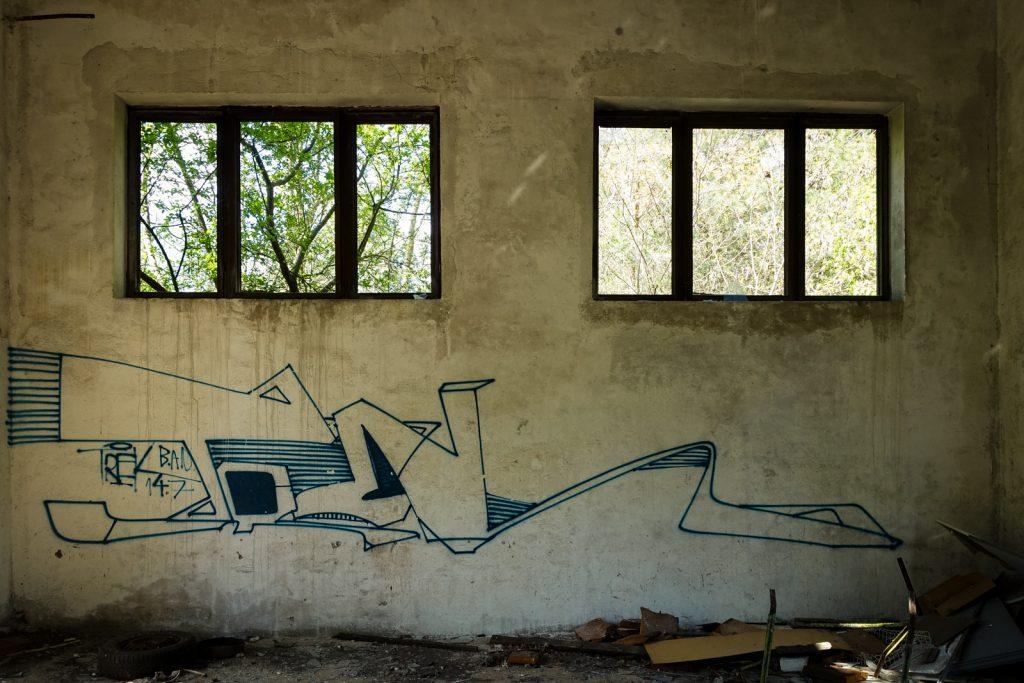 urbexart - graffiti - trek - wünsdorf / berlin