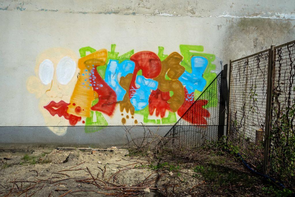 angst - graffiti - berlin, prenzlauerberg