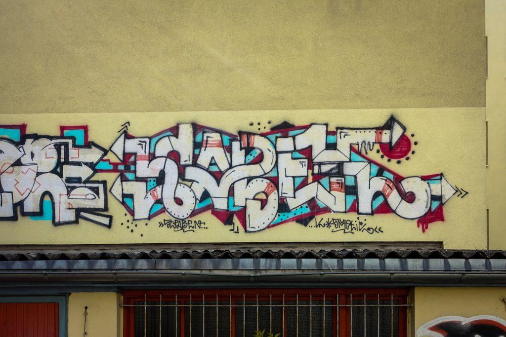 graffiti - kabel - berlin, prenzlauerberg
