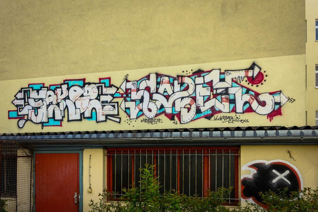 graffiti - sakor, kabel - berlin, prenzlauerberg
