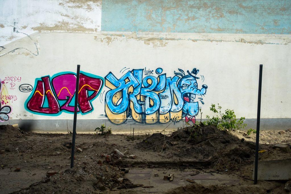 graffiti - berlin, prenzlauerberg