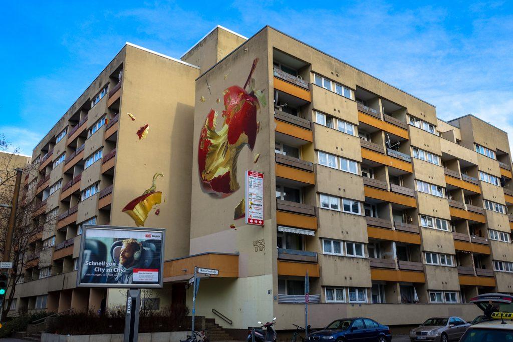 mural - onur & wes21 - one wall - berlin, kreuzberg