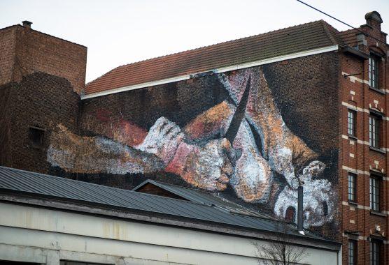 explicit murals in brussels