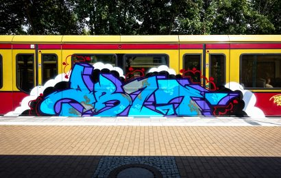 graffiti train bombing, berlin – tegel