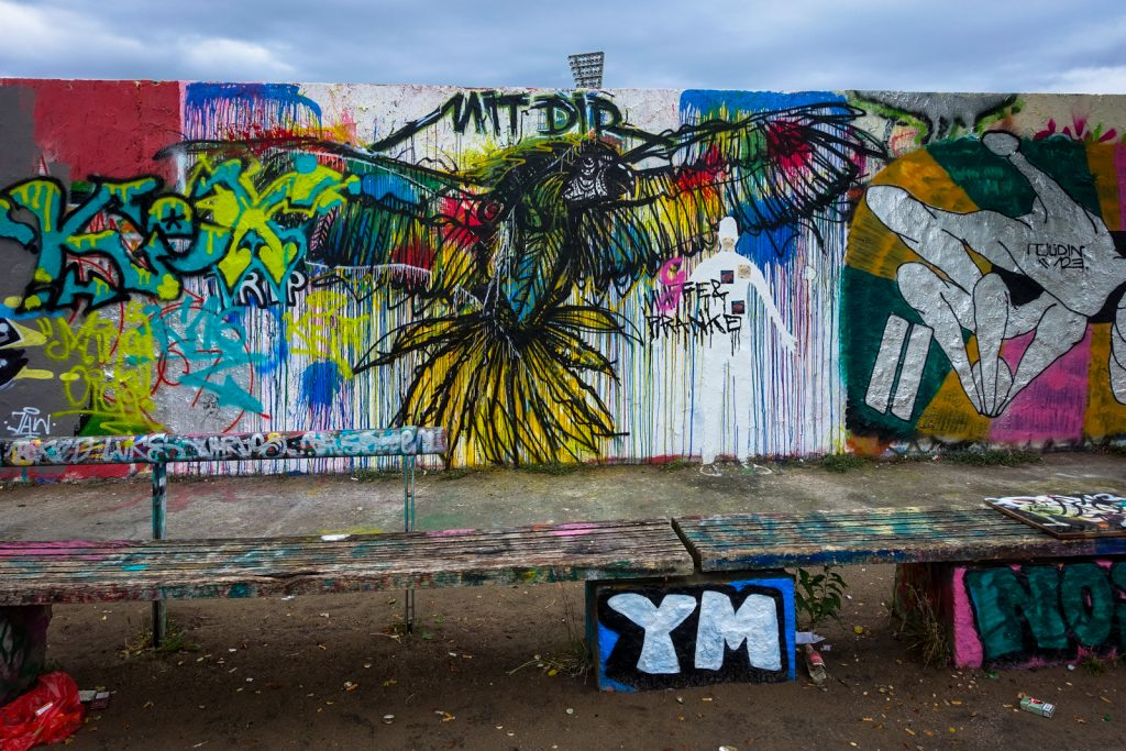 legal wall - mauerpark, berlin