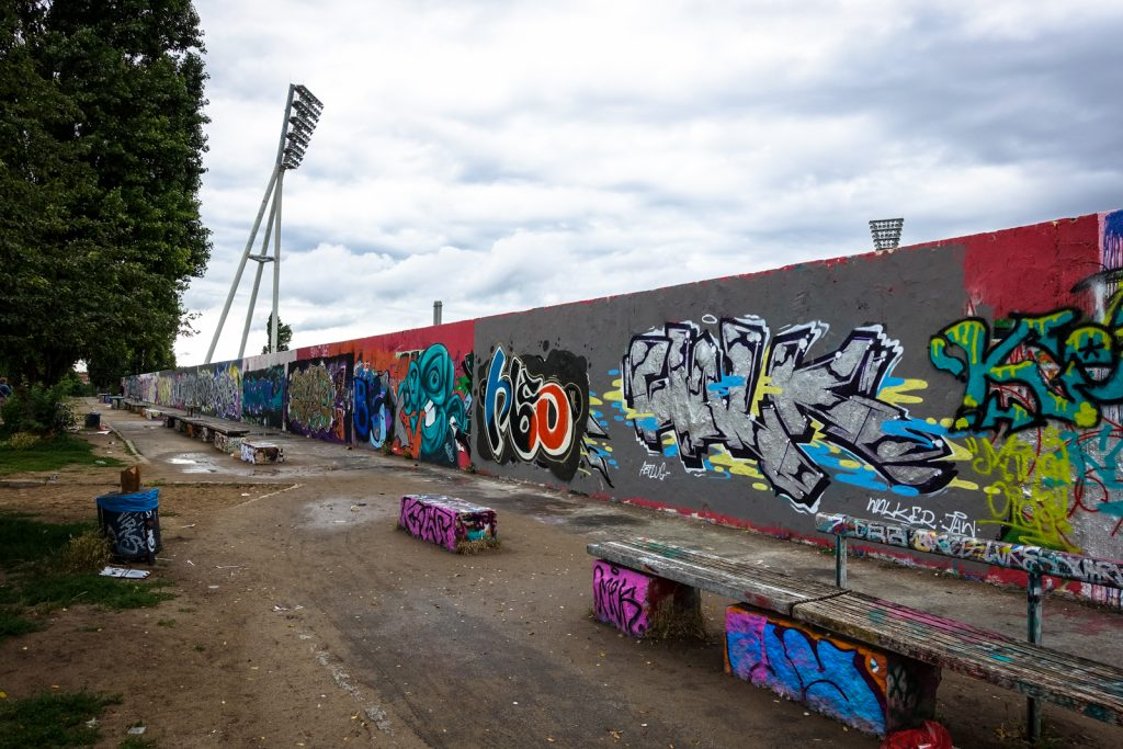 graffiti - legal wall - mauerpark, berlin