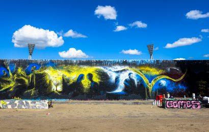 legal wall at mauerpark, summer 2016