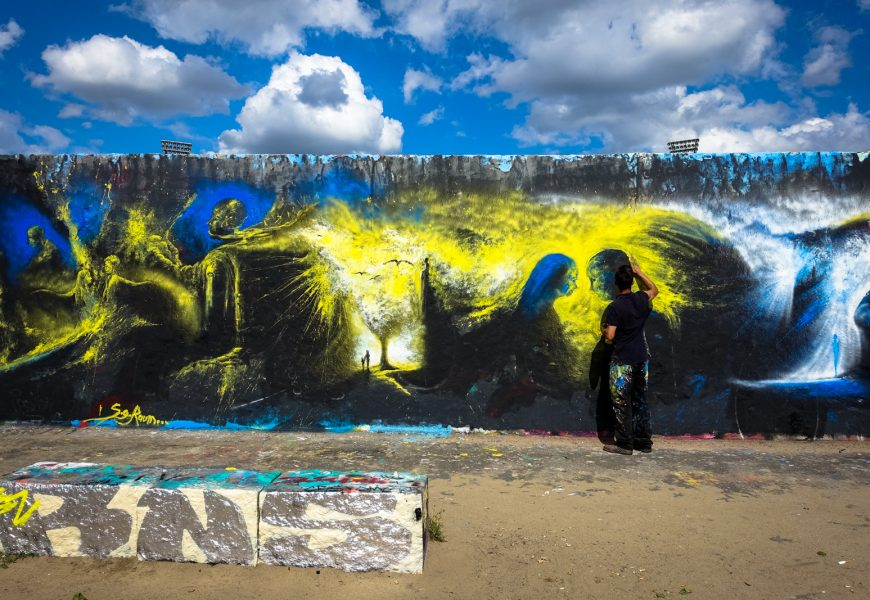 legal wall im mauerpark, sommer 2016