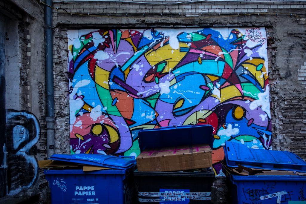 urban art - cren - berlin, panke