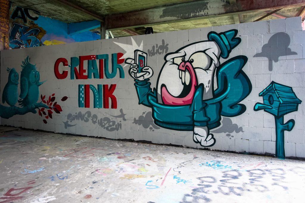 graffiti - bo ing & haevi styles - berlin, abhörstation teufels